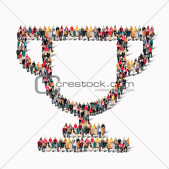 group  people  shape  cup