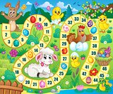 Board game image with Easter theme 1