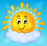 Cheerful sun theme image 2