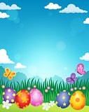 Decorated Easter eggs theme image 3