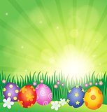 Decorated Easter eggs theme image 4