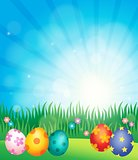 Decorated Easter eggs theme image 5