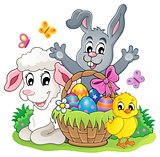 Easter basket theme image 5