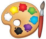 Paint palette theme image 1
