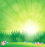 Spring topic background 1