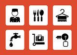 set hotel icons