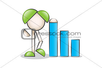 Business Financial Graphics and Cartoon Characters design.