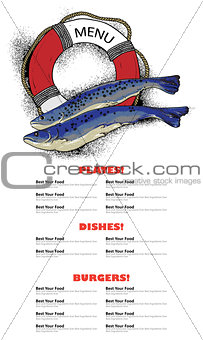 fish restaurant menu