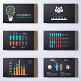 Vector template for presentation slides