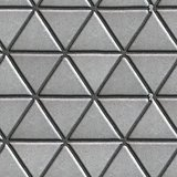 Gray Paving Slabs - Pattern of Small Triangles.