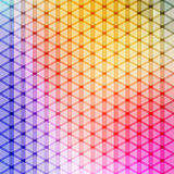gradient blue color and triangle polygon pattern background vector