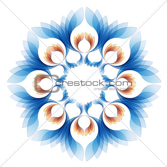 abstract vector background version one