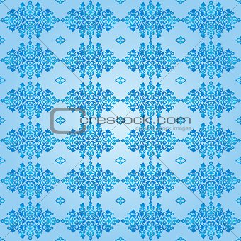 Antique ottoman turkish pattern vector design fifty two
