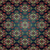 Antique ottoman turkish pattern vector design fourty eight