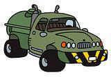 Funny tank truck