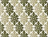 Antique ottoman turkish pattern vector design fourty four
