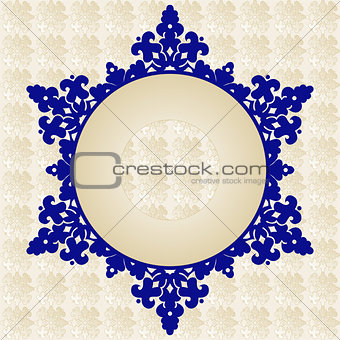 Antique ottoman turkish pattern vector design fourty one