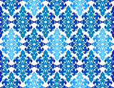 Antique ottoman turkish pattern vector design fourty three