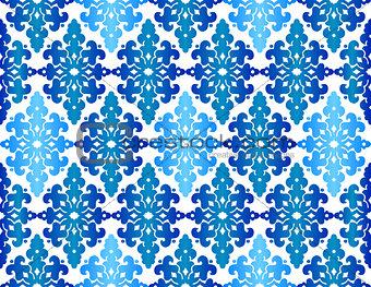 Antique ottoman turkish pattern vector design fourty three