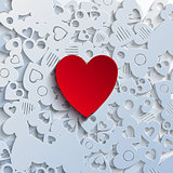 Heartshape Background