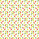 Pear seamless pattern. Vector illustration.