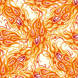 abstract fire pattern