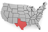 Texas map image
