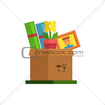 Box With Personal Belongings