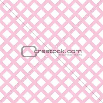 Tile pink plaid decoration vector background