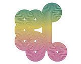 geometric shape curved lines