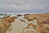 Asilomar State Beach, Monterey Peninsula, Central California