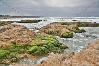 Asilomar State Beach, Monterey Peninsula, Central California