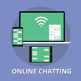 online chatting chat technology multi platform