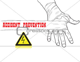 Accident prevention High voltage