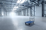 Modern empty storehouse