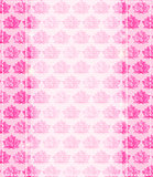 Pink Lotus Flower Card with Place for Text