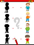 preschool shadow activity for kids