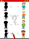 preschool shadow activity for kids