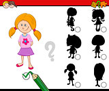 shadows activity for children
