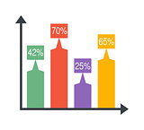 Arrow Infographic elements vector illustration