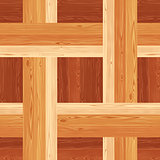 Netting Parquet Seamless Floor Pattern