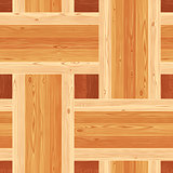 Platting Parquet Seamless Floor Pattern