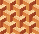 Parquet 3d Seamless Floor Pattern