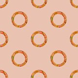 Abstract geometric seamless pattern for background or wrapping paper
