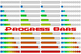Progress Bars Set