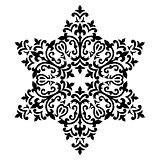 Antique ottoman turkish pattern vector design fifty six