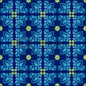 Antique ottoman turkish pattern vector design seventy three