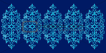 Antique ottoman turkish pattern vector design sixty six