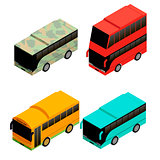 Different types of bus