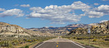 Panorama of scenic byway 12 in Utah